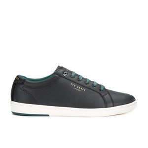 Ted Baker Men's Theeyo 3 Leather Cupsole Trainers - Black