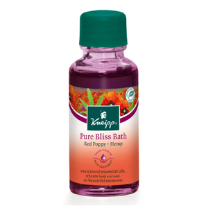 Kneipp Red Poppy & Hemp Pure Bliss Herbal Bath 67 fl.oz (Free Gift)