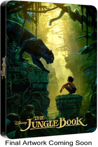 The Jungle Book 3D (Includes 2D Version) - Zavvi Exclusive Limited Edition Steelbook