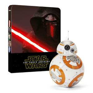 BB-8 App-Enabled Droid™ by Sphero & Star Wars: The Force Awakens Zavvi Exclusive Limited Edition Steelbook Bundle