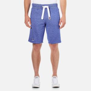 Superdry Men's Orange Label Cali Slim Shorts - Mazarine Blue Mega Grit