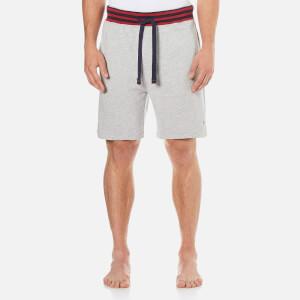 Tommy Hilfiger Men's Colour Blocking Fleece Shorts - Grey Heather