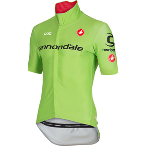 Castelli Cannondale Pro Cycling Team Gabba 2 Jersey - Green