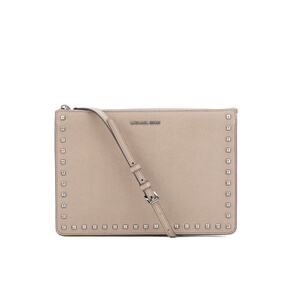 MICHAEL MICHAEL KORS Ava Stud Clutch Bag - Grey