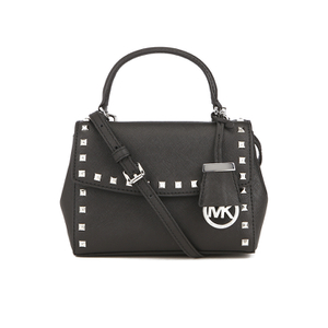 MICHAEL MICHAEL KORS Ava Stud Mini Crossbody Bag - Black