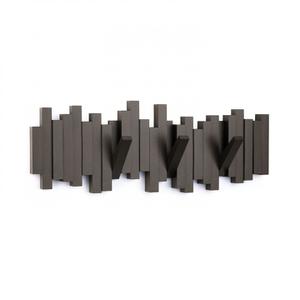 Umbra Sticks Multi Wall Coat Hooks - Espresso