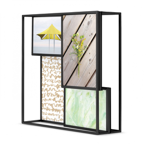 Umbra Matrix Multi Photo Display Frame - Black