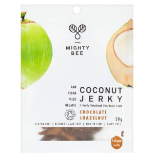 Mighty Bee Organic Coconut Jerky - Chocolate Hazelnut