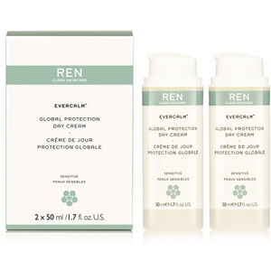 REN Evercalm™ Global Protection Day Cream Duo (2 x 50ml) (Worth £56)