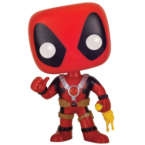 Marvel Deadpool Rubber Chicken Limited Edition Funko Pop! Figur