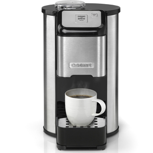 Cuisinart DGB1U One Cup Grind and Brew Coffee Machine - Silver