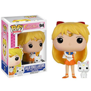 Sailor Moon Sailor Venus & Artemis Funko Pop! Figuur