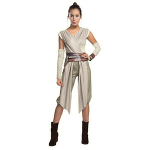 Star Wars Women's Deluxe Rey Fancy Dress