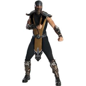 Mortal Kombat Men's Scorpion Fancy Dress