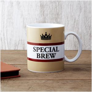 Special Brew Mug - Brown