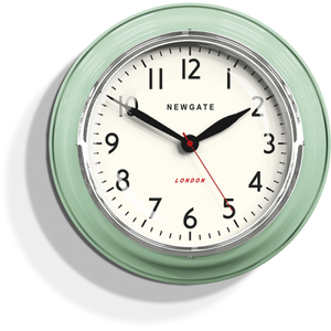 Newgate Cookhouse Wall Clock - Kettle Green