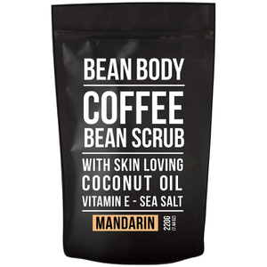 Bean Body Coffee Bean Scrub 220g - Mandarin