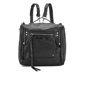 McQ Alexander McQueen Women's Convertible Box Backpack - Black