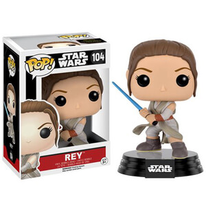 Star Wars: The Force Awakens Rey with Lightsaber Pop! Vinyl Figure