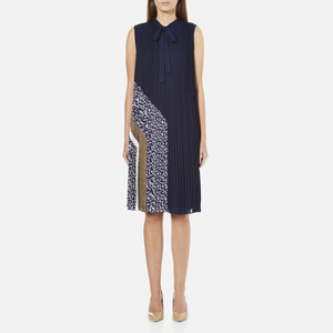 Diane von Furstenberg Women's Anabel Dress - Midnight/Canvas