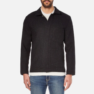 A Kind of Guise Men's Harris Tweed Teheran Jacket - Black Melange