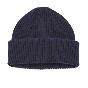 Paul Smith Accessories Men's Cashmere Beanie Hat - Navy