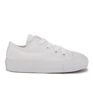 Converse Toddler Chuck Taylor All Star Ox Trainers - White
