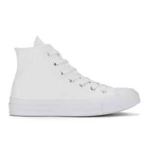 Converse Chuck Taylor All Star '70 Vintage Canvas Hi-Top Trainers - White Monochrome