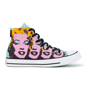 Converse Chuck Taylor All Star Warhol Hi-Top Trainers - Lichen/Orchid Smoke/White