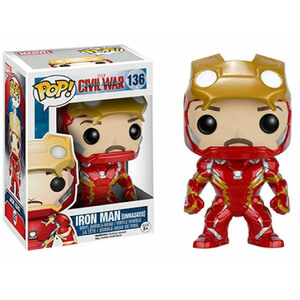 Marvel Civil War Iron Man Unmasked Funko Pop! Figur