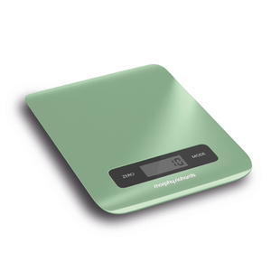 Morphy Richards 974902 Digital Kitchen Scales Sage Green