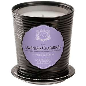 Aquiesse Tin Candle - Lavender Chapparal