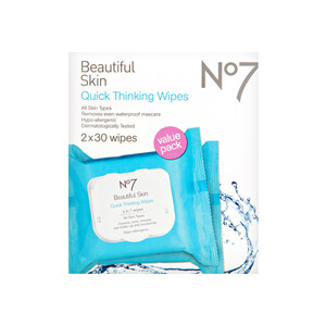 Boots No.7 Quick Thinking Wipes - Value Pack