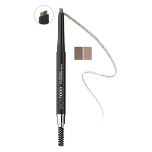 LashFood Eco-Precision 2-Tone Brow Pencil - Brunette