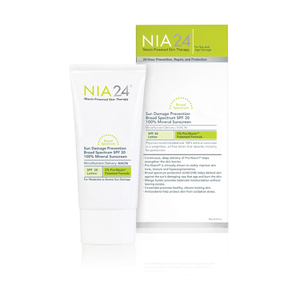 NIA24 Sun Damage Prevention Broad Spectrum SPF 30 100% Mineral Sunscreen