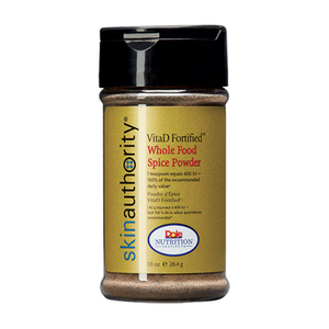 Skin Authority VitaD Fortified Whole Food Spice Powder