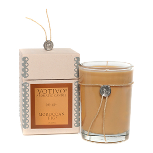 Votivo Aromatic Candle - Moroccan Fig
