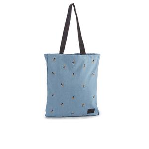 Herschel Supply Co. Packable Travel Disney Tote Bag - Denim/Black Webbing