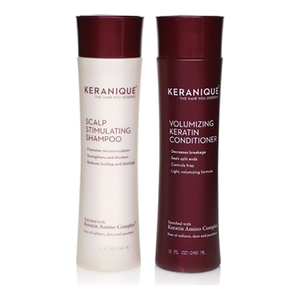 Keranique Deep Hydration Scalp Stimulating and Volumizing Duo