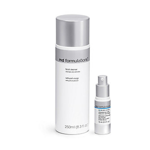 MD Formulations Cleanser and Moisture Defense Eye Cream
