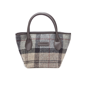 Barbour Women's Tartan Mini Tote Bag - Winter Tartan