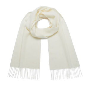 Barbour Women's Lambswool Woven Scarf - Cream