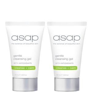 2x asap gentle cleansing gel 50ml