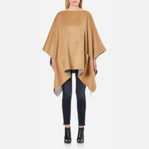 MICHAEL MICHAEL KORS Women's Double Faced Poncho - Beige