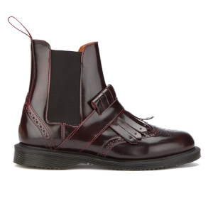 Dr. Martens Women's Tina Arcadia Brogue Chelsea Boots - Cherry Red