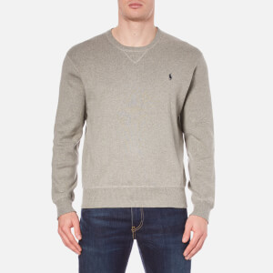 Polo Ralph Lauren Men's Crew Neck Knitted Sweatshirt - Fawn Grey Heather