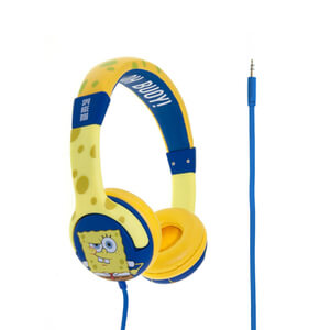 SpongeBob SquarePants Epic Children's On-Ear Headphones - Yellow/Blue