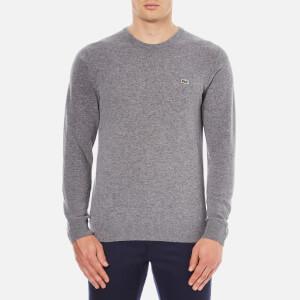 Lacoste Men's Crew Neck Sweatshirt - Stone Chine