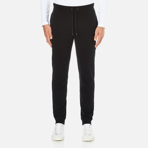 Michael Kors Men's Stretch Fleece Cuffed Sweatpants - Black