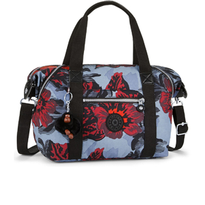 Kipling Women's Art S Handbag - Rose Bloom Blue